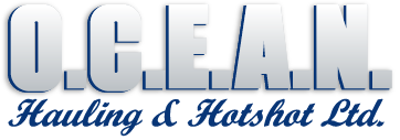 Ocean Hauling and Hotshot ltd. logo