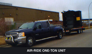 air-ride one-ton unit