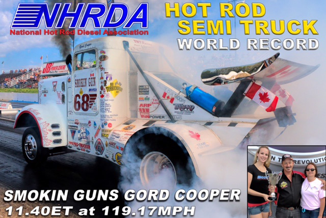 Hot Rod Semi Truck World Record