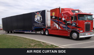 air ride curtain side